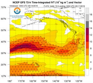 "Rare ""atmospheric river"" storms to soak California this week"