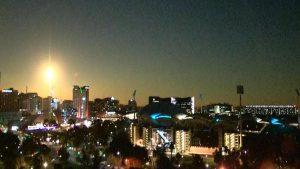 Victorian meteor: 'Fireball' lights up Melbourne skies