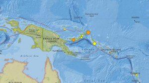 Powerful 7.5 earthquakes hits Papua New Guinea, tsunami alert issued