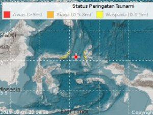 7.1 magnitude earthquake hits Indonesia, tsunami warning issued