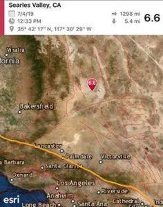 6.6 earthquake in California felt in Las Vegas; downgraded to 6.4