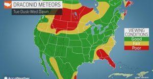 Fireballs may flash across night sky as 2 meteor showers peak this week
