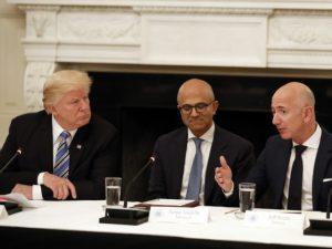 President Trump's Economic Team: Big Tech's Massive Power Is Perfectly Fine